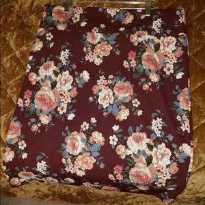 Beautiful floral print Cassie style Lula skirt